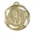 "Medaille ""Basketball"" - Farbe - gold"