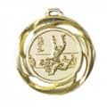 "Medaille ""Judo"" Ø 40mm mit Band - Farbe - Gold"
