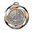 "Medaille ""Turnen"" - Farbe - bronze"