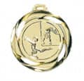 """Medaille """"Turnen"""" - Farbe - gold"""