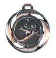 "Medaille ""Handball"" Ø 40mm mit Band - Farbe - Bronze"