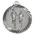 """Medaille """"Läufer"""" - Farbe - silber"""