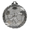 """Medaille """"Fußball"""" - Farbe - silber"""