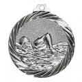 """Medaille """"Schwimmen"""" - Farbe - silber"""