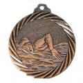 """Medaille """"Schwimmen"""" - Farbe - bronze"""