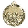 """Medaille """"Schwimmen"""" - Farbe - gold"""
