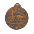 "Medaille ""Turnen"" - Farbe - bronze"