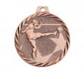 "Medaille ""Fußball"" - Farbe - bronze"