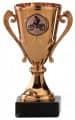 Motocrosspokale 3er Serie A103-MOTO - Farbe - bronze