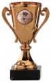 Badmintonpokale 3er Serie A103-BAD - Farbe - bronze