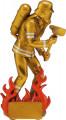Feuerwehrmann mit Axt TRY-RF6001 gold