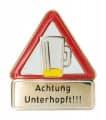 Achtung Unterhopft - Pin