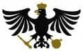 """Schützenvogel """"Fritz"""" aus Holz - Farbe - schwarz-gold"""