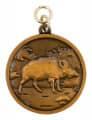 """Jagdmedaille """"Wildschwein"""" - Ausführung - bronze"""
