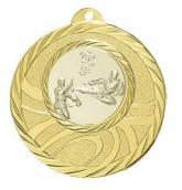 """Medaille """"Brinidis"""" Ø 50mm mit Wunschemblem und Band gold"""