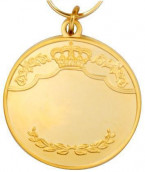 Königsmedaille 1 gold