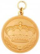 Königsmedaille 3 gold