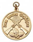 Medaille - Dem besten Schützen gold