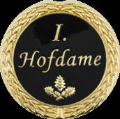 Auflage 1. Hofdame schwarz