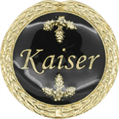 Auflage Kaiser schwarz