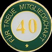 Auflage treue Mitgliedschaft 40
