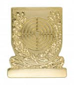 Meisterschaftabzeichen Scheibe gold