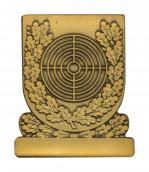 Meisterschaftabzeichen Scheibe bronze