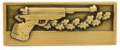 Meisterschaftabzeichen Luftpistole bronze