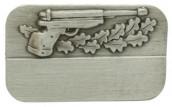 Meisterschaftabzeichen Luftpistole altsilber