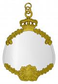 Königsschild 6 silber/gold