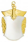 Königsschild 13 silber/gold