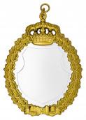 Königsschild 14 silber/gold