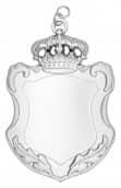 Königsschild 15 silber