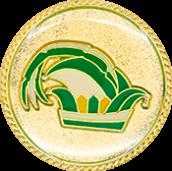 Auflage Prinzenkappe Grün