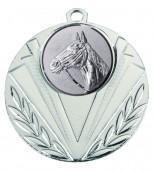 """Medaille """"Geras"""" Ø 50 mm inkl. Wunschemblem und Kordel silber"""