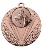 """Medaille """"Geras"""" Ø 50 mm inkl. Wunschemblem und Kordel bronze"""