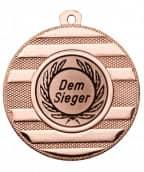 "Medaille ""Keren"" Ø 50 mm inkl. Wunschemblem und Kordel bronze"