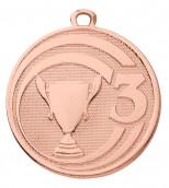 "Medaille ""Glory"" Ø 45 mm inkl. Wunschemblem und Kordel bronze"