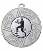 "Medaille ""Ourea"" Ø 50 mm inkl. Wunschemblem und Kordel silber"