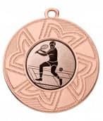 "Medaille ""Ourea"" Ø 50 mm inkl. Wunschemblem und Kordel bronze"
