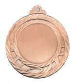 """Medaille """"Olympia"""" Ø 40mm mit Wunschemblem und Band bronze"""