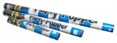 Konfettikanone Papierstreifen blau/weiß