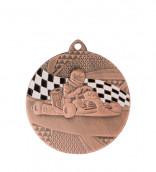 """Medaille """"Kart"""" Ø 50mm mit Band1 Bronze1"""