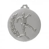 "Medaille ""Handball"" Ø 50mm silber mit Band Silber"
