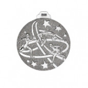 """Medaille """"Leichtathletik"""" silber"""