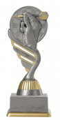 Dartpokal PF216-M61 altsilber/gold 15,8cm