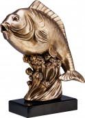 Rfst2095 Br Angelpokale Fisch TRY-RFST2095 bronze