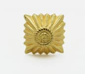 Stern klein 12mm x 12mm gold