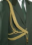 Fangschnur 2 Breitgeflechte (gold oder silber)