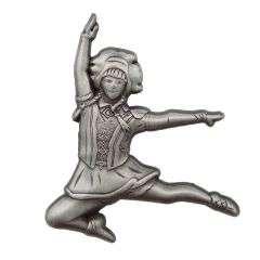 Neu: Tanzmariechen Sprung Pin 3D gegossen
